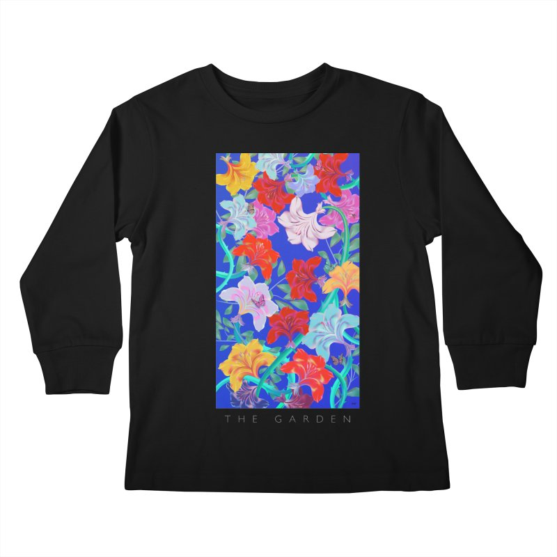THE GARDEN Kids Longsleeve T-Shirt by mu's Artist Shop