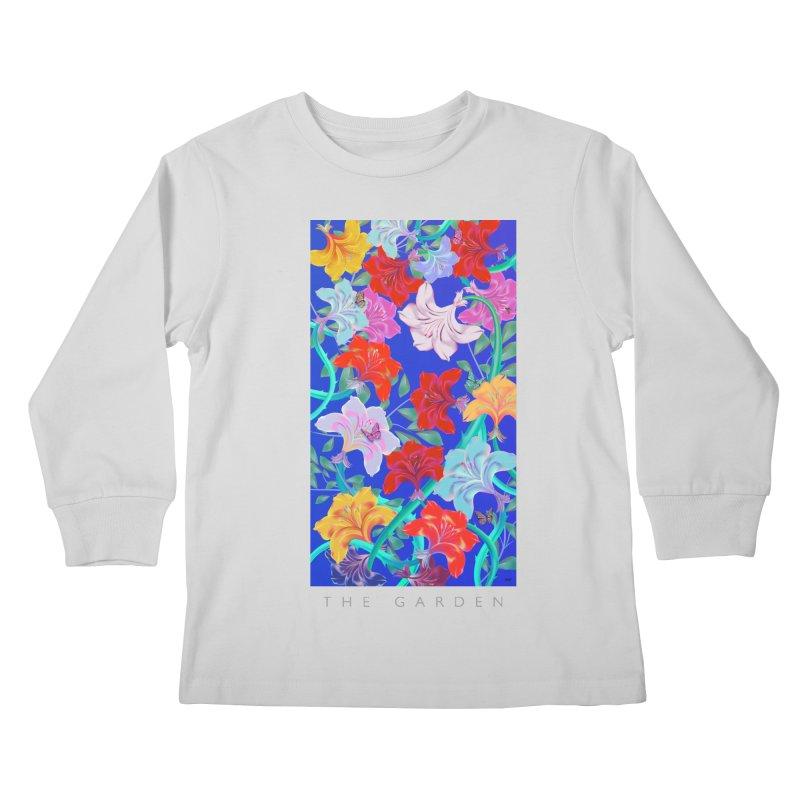 THE GARDEN Kids Longsleeve T-Shirt by mu's Artist Shop