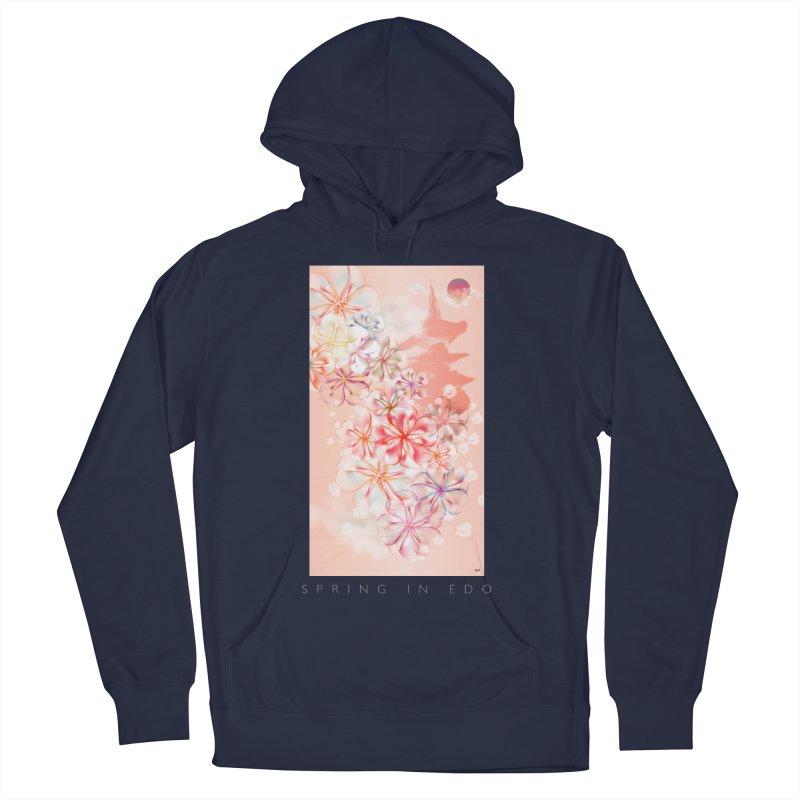 SPRING IN EDO Women's Pullover Hoody by mu's Artist Shop