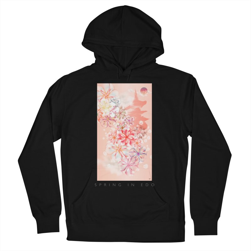 SPRING IN EDO Men's Pullover Hoody by mu's Artist Shop