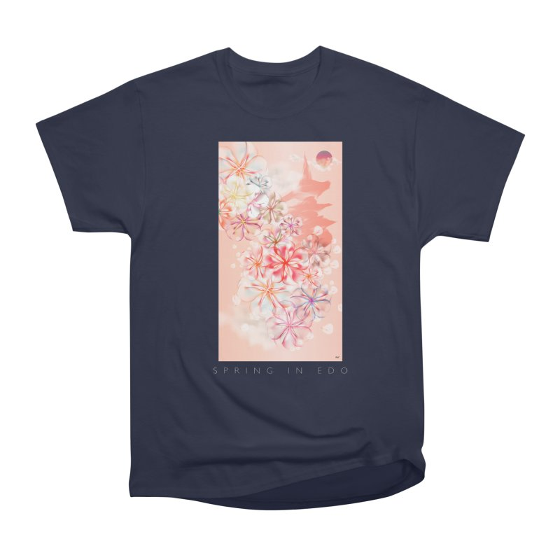 SPRING IN EDO Women's Classic Unisex T-Shirt by mu's Artist Shop