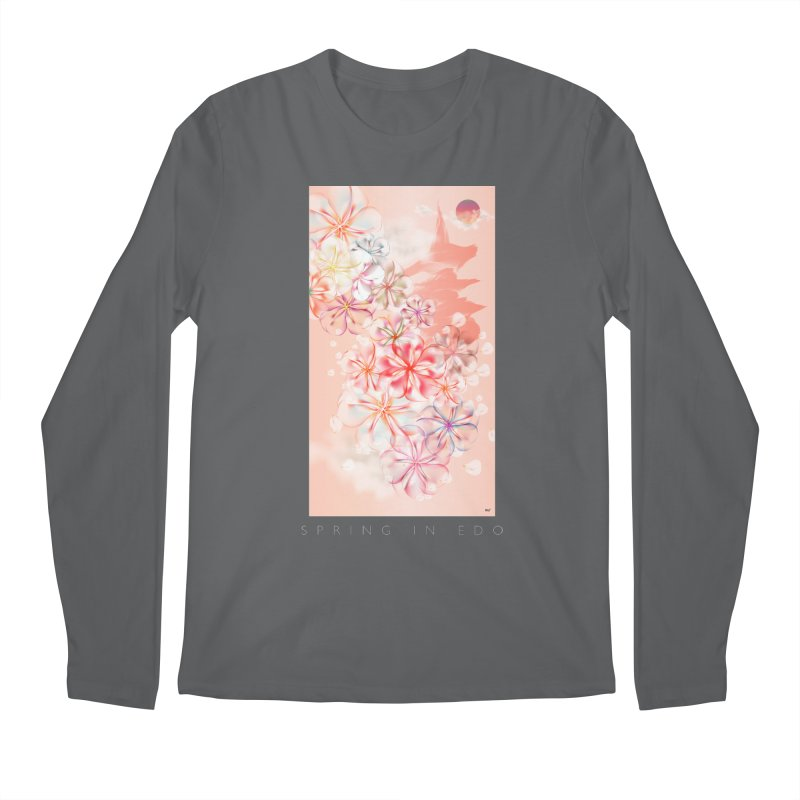SPRING IN EDO Men's Longsleeve T-Shirt by mu's Artist Shop