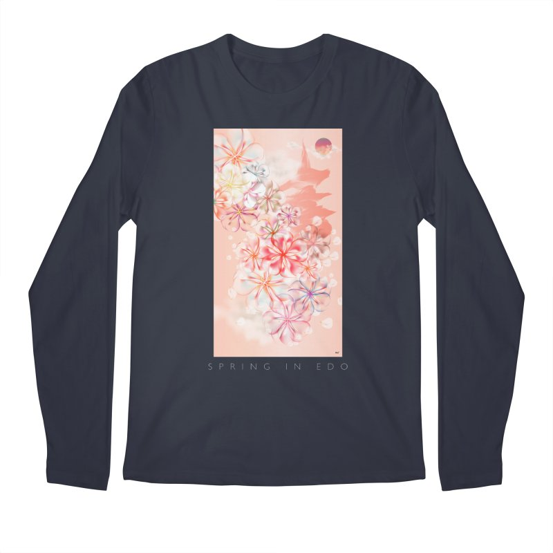 SPRING IN EDO Men's Regular Longsleeve T-Shirt by mu's Artist Shop
