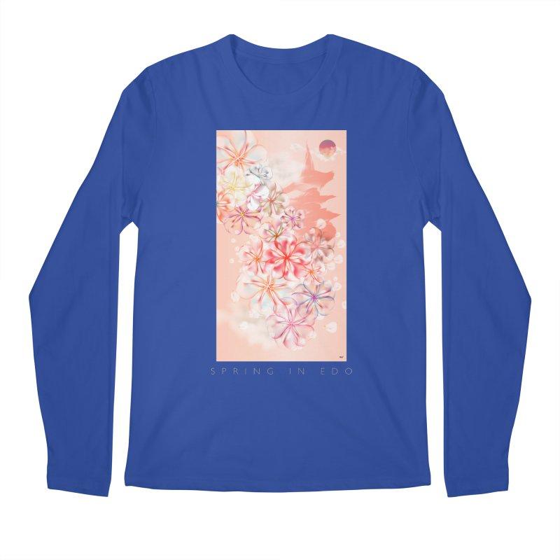 SPRING IN EDO Men's Longsleeve T-Shirt by mu's Artist Shop