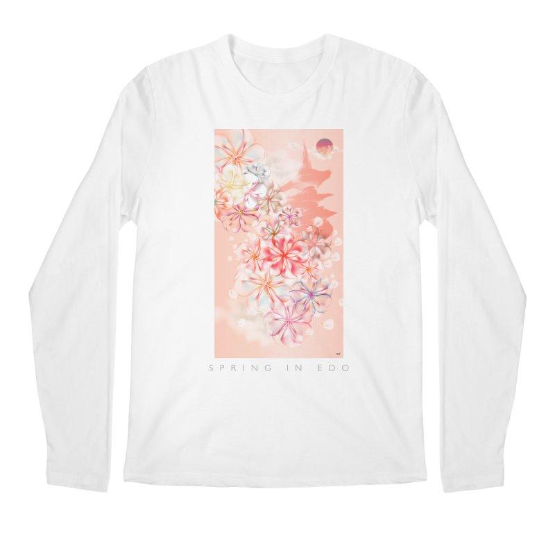 SPRING IN EDO Men's Regular Longsleeve T-Shirt by mu's Artist Shop