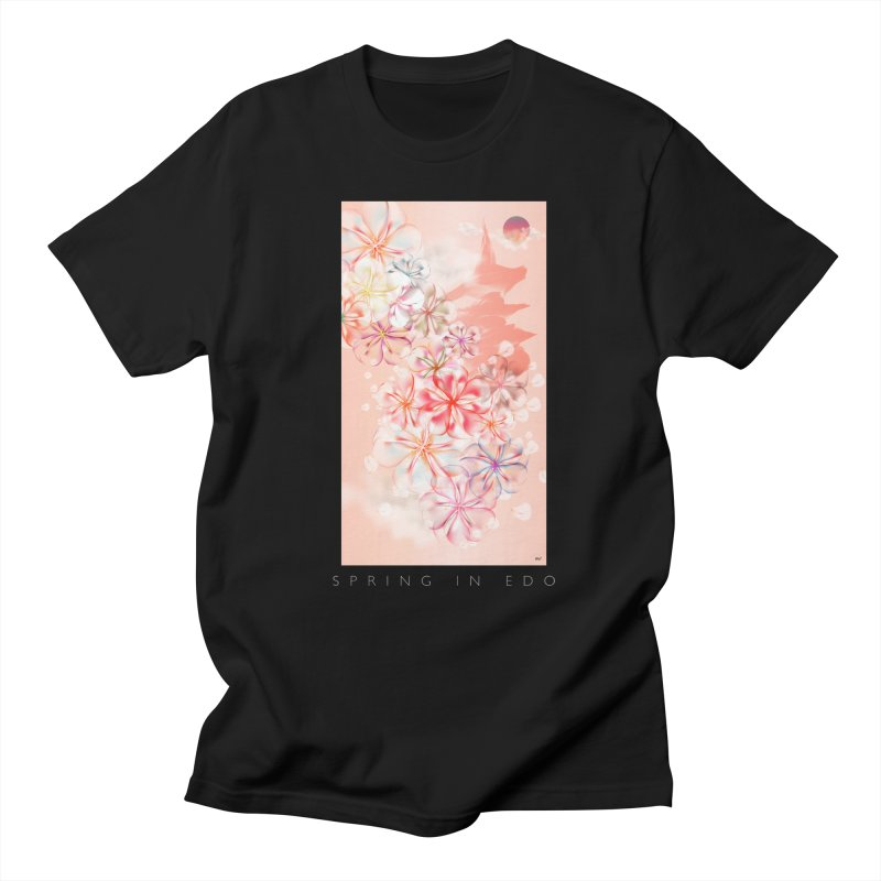 SPRING IN EDO Women's Regular Unisex T-Shirt by mu's Artist Shop