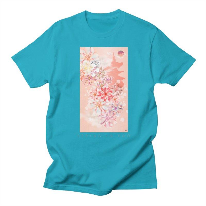 SPRING IN EDO Men's Regular T-Shirt by mu's Artist Shop