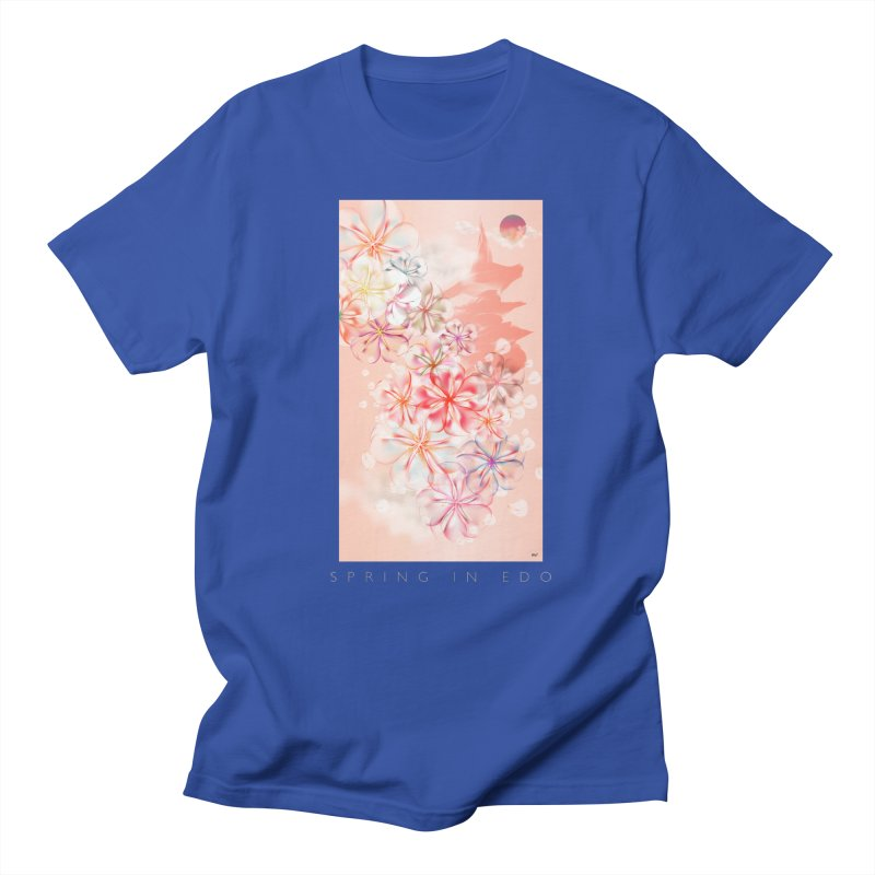 SPRING IN EDO Women's Regular Unisex T-Shirt by mu's Artist Shop