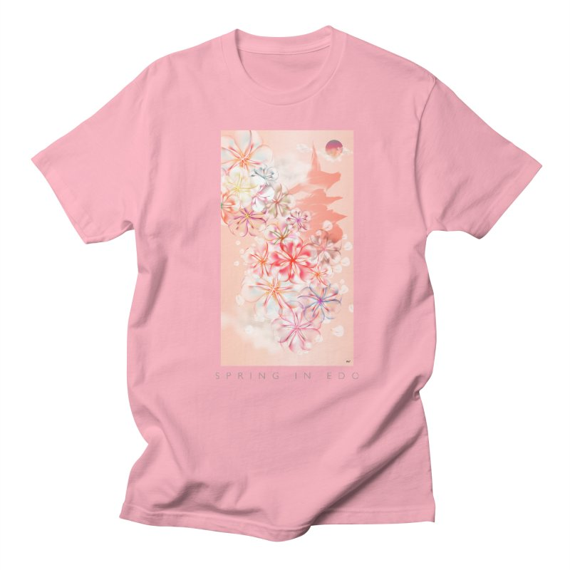 SPRING IN EDO Women's Unisex T-Shirt by mu's Artist Shop