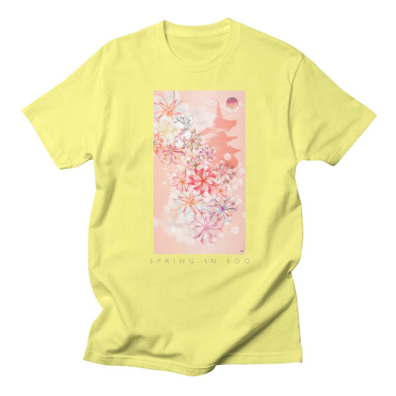 SPRING IN EDO Men's T-Shirt by mu's Artist Shop