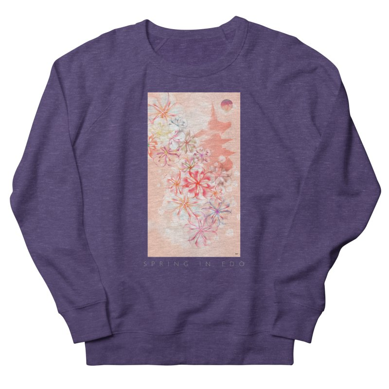 SPRING IN EDO Women's French Terry Sweatshirt by mu's Artist Shop