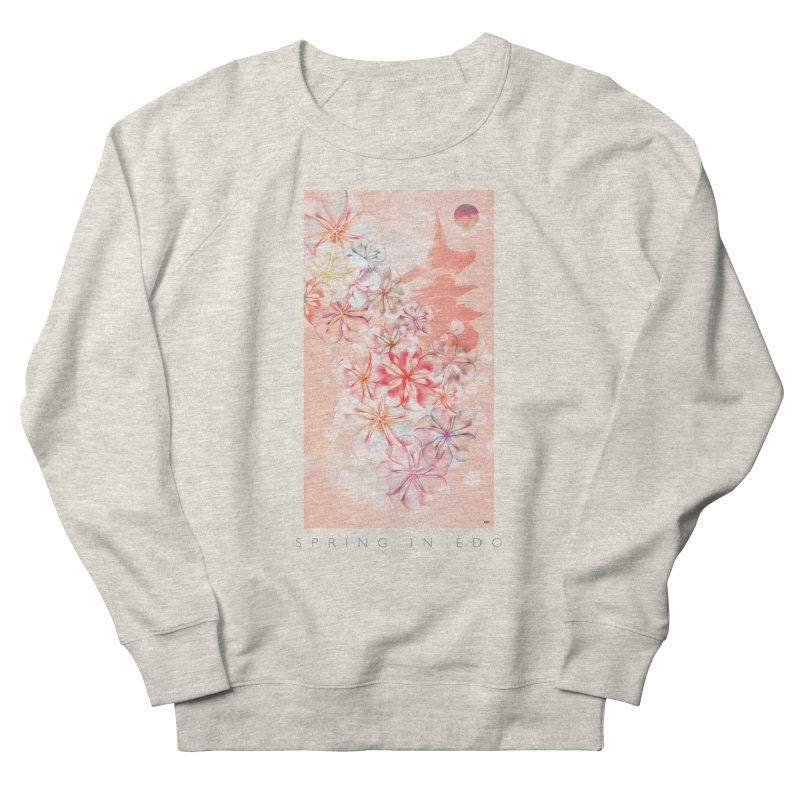 SPRING IN EDO Women's French Terry Sweatshirt by mu's Artist Shop