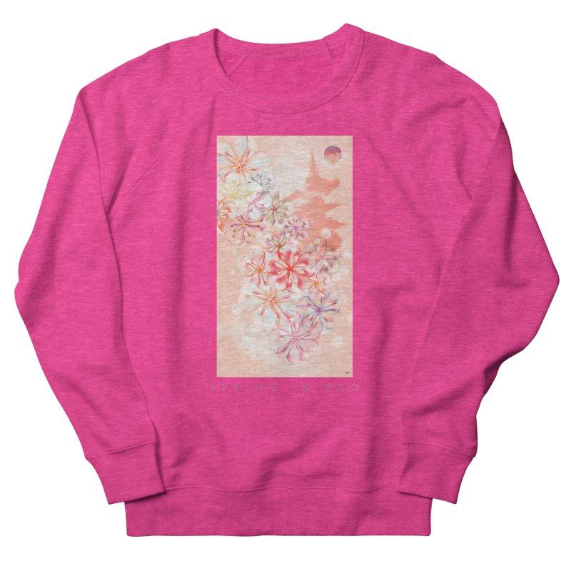 SPRING IN EDO Men's French Terry Sweatshirt by mu's Artist Shop