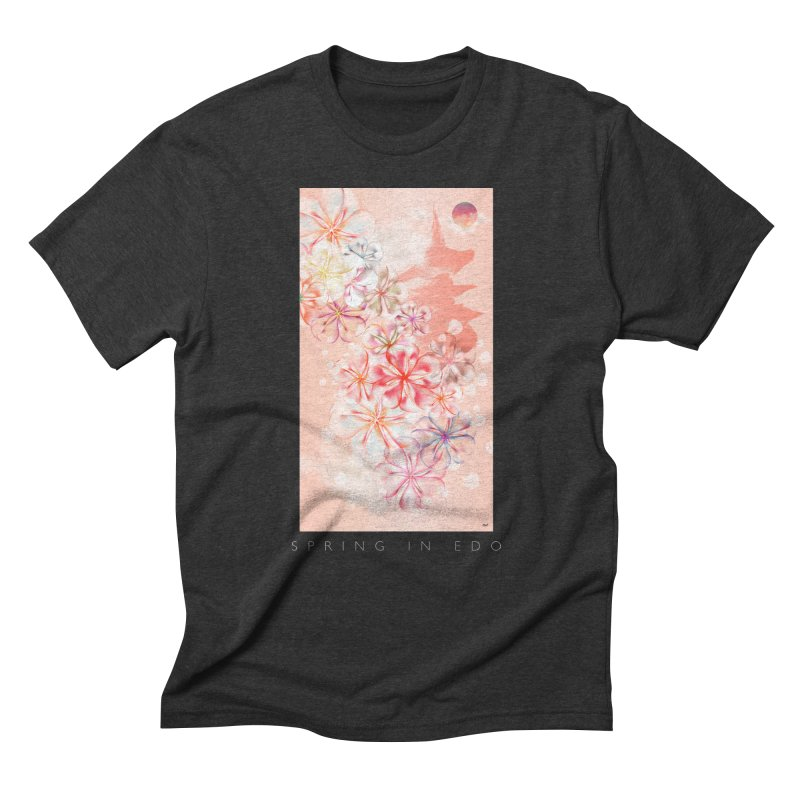 SPRING IN EDO Men's Triblend T-Shirt by mu's Artist Shop