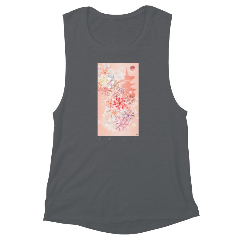 SPRING IN EDO Women's Muscle Tank by mu's Artist Shop