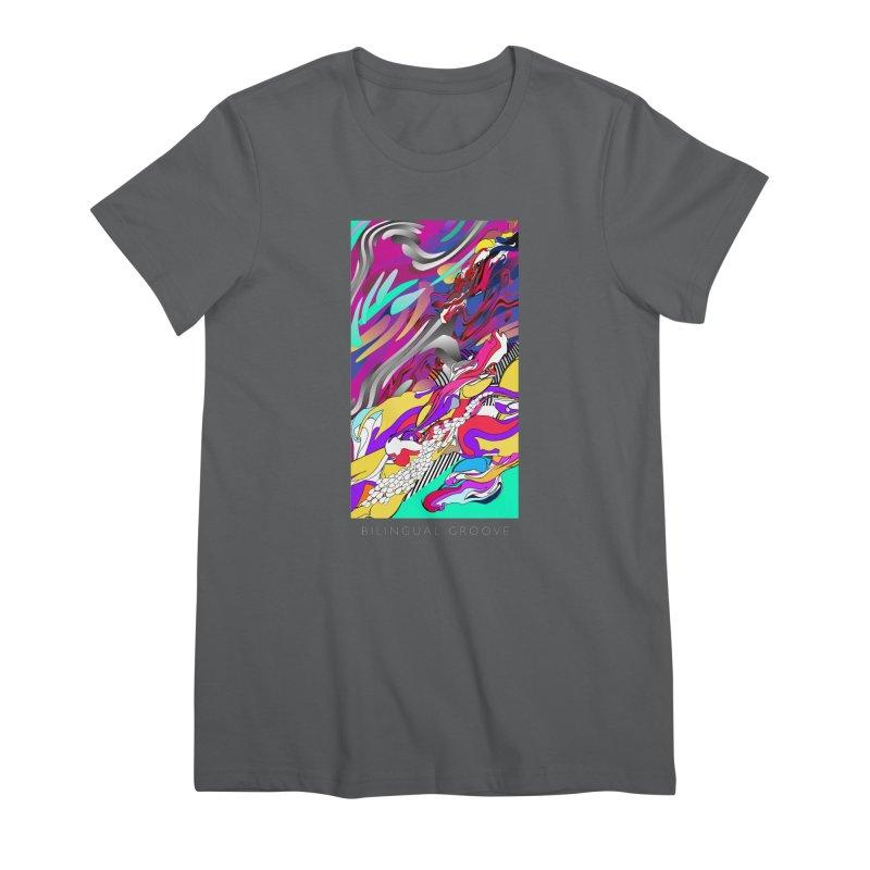 BILINGUAL GROOVE Women's T-Shirt by mu's Artist Shop