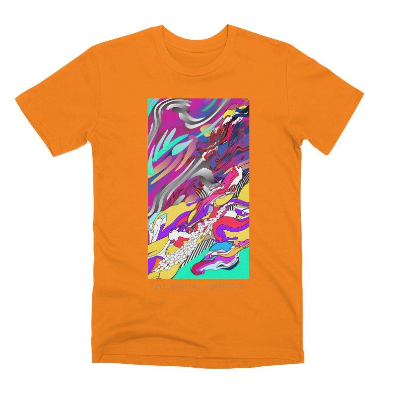 BILINGUAL GROOVE Men's Premium T-Shirt by mu's Artist Shop