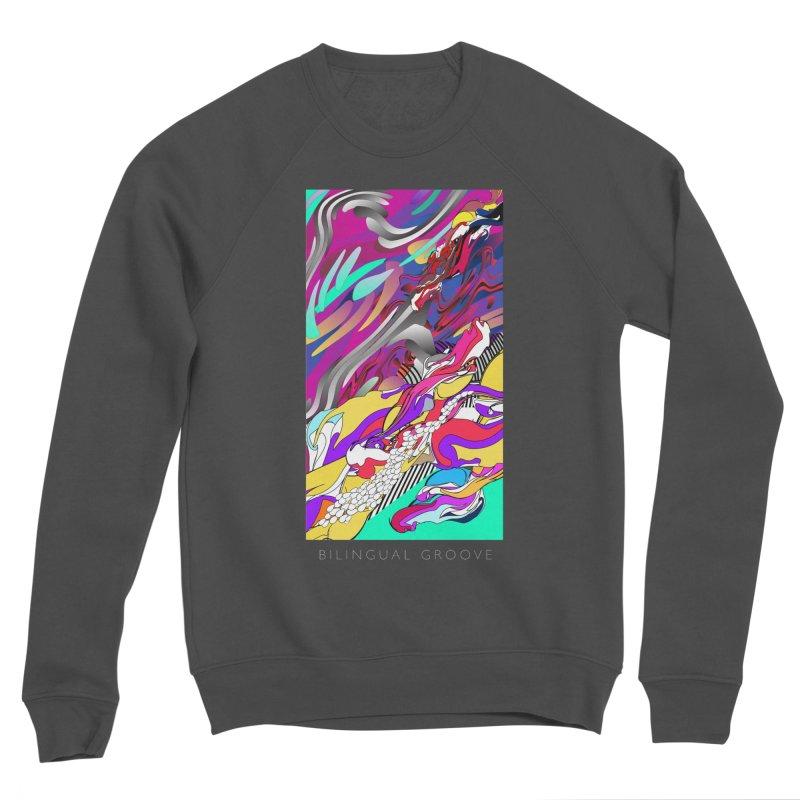 BILINGUAL GROOVE Men's Sponge Fleece Sweatshirt by mu's Artist Shop