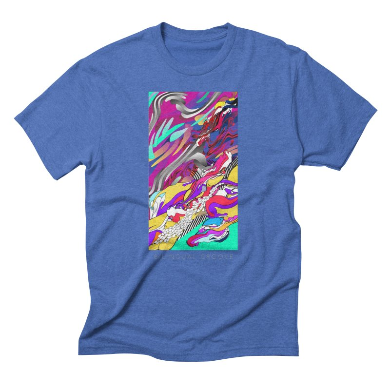 BILINGUAL GROOVE Men's T-Shirt by mu's Artist Shop