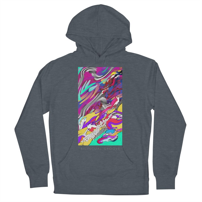 BILINGUAL GROOVE Women's Pullover Hoody by mu's Artist Shop