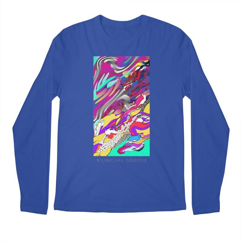 BILINGUAL GROOVE Men's Regular Longsleeve T-Shirt by mu's Artist Shop