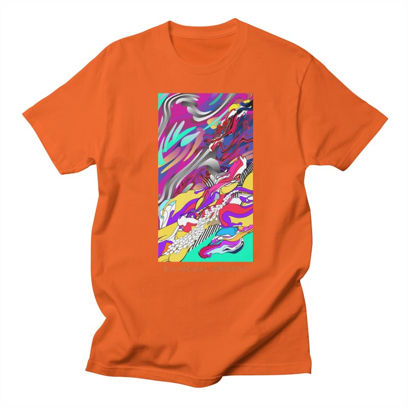 BILINGUAL GROOVE Women's Regular Unisex T-Shirt by mu's Artist Shop