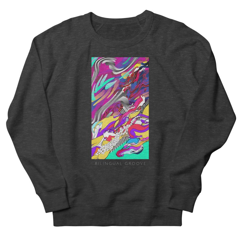 BILINGUAL GROOVE Women's Sweatshirt by mu's Artist Shop