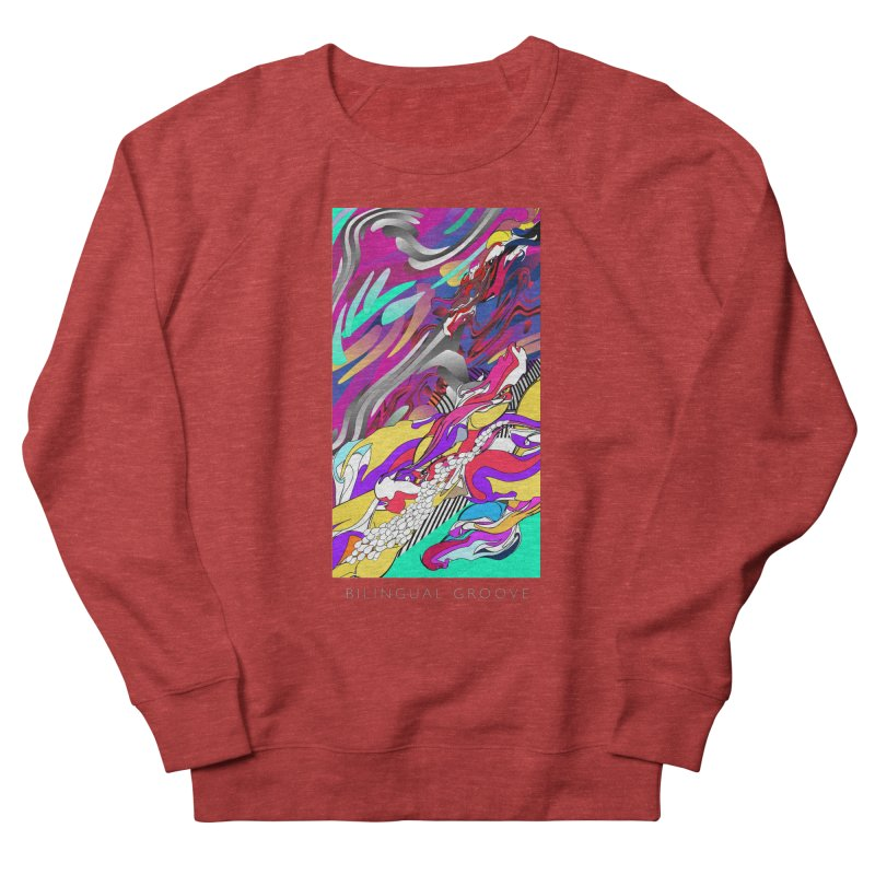 BILINGUAL GROOVE Women's Sweatshirt by mu's Artist Shop