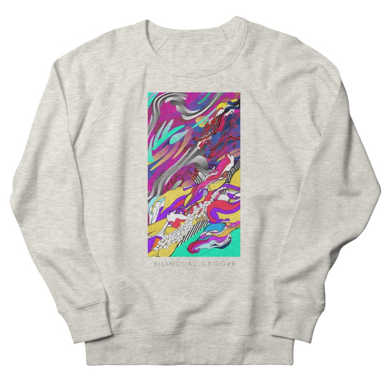 BILINGUAL GROOVE Women's French Terry Sweatshirt by mu's Artist Shop