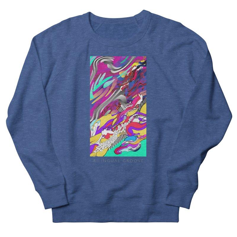 BILINGUAL GROOVE Men's French Terry Sweatshirt by mu's Artist Shop