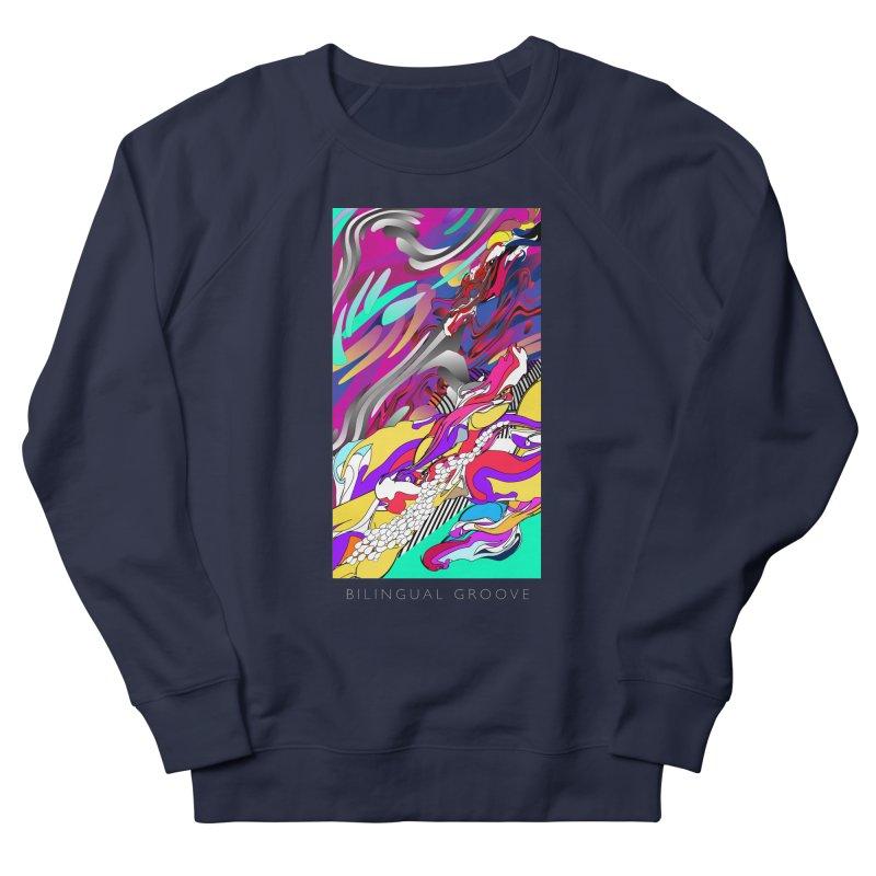 BILINGUAL GROOVE Men's Sweatshirt by mu's Artist Shop
