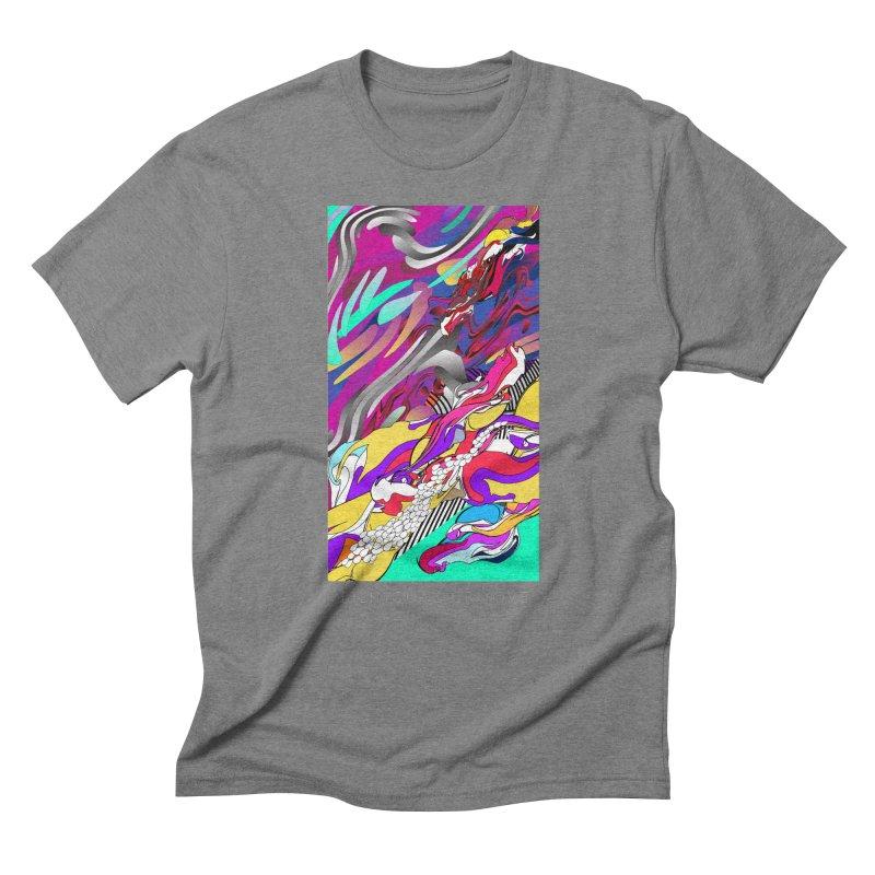 BILINGUAL GROOVE Men's Triblend T-Shirt by mu's Artist Shop