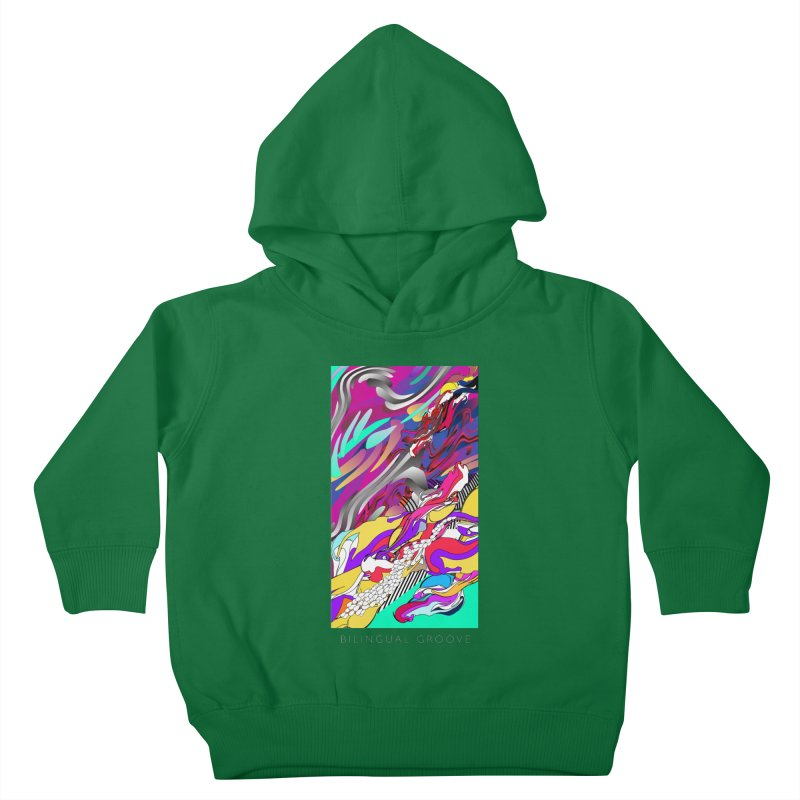 BILINGUAL GROOVE Kids Toddler Pullover Hoody by mu's Artist Shop
