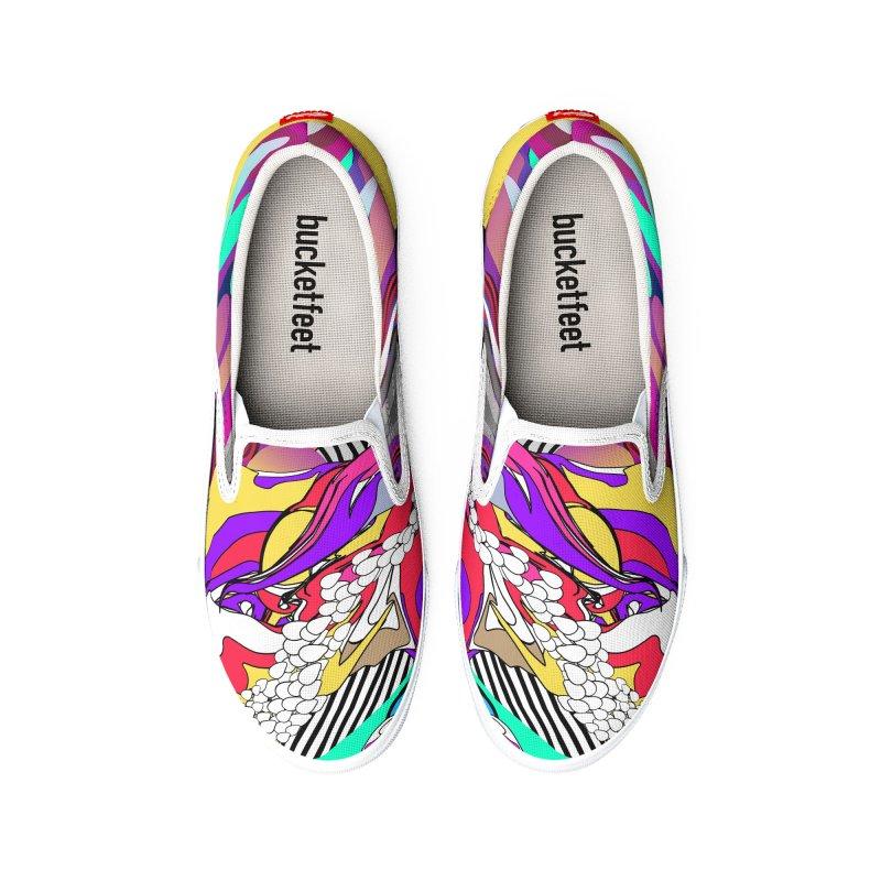 BILINGUAL GROOVE Women's Shoes by mu's Artist Shop