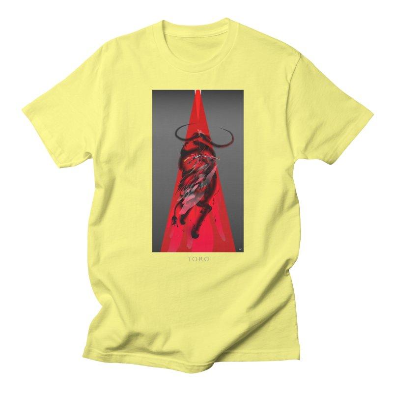 TORO! Men's Regular T-Shirt by mu's Artist Shop