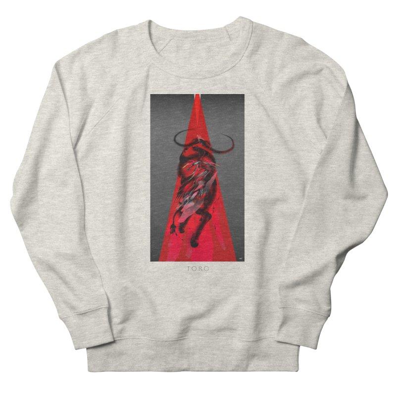 TORO! Men's French Terry Sweatshirt by mu's Artist Shop
