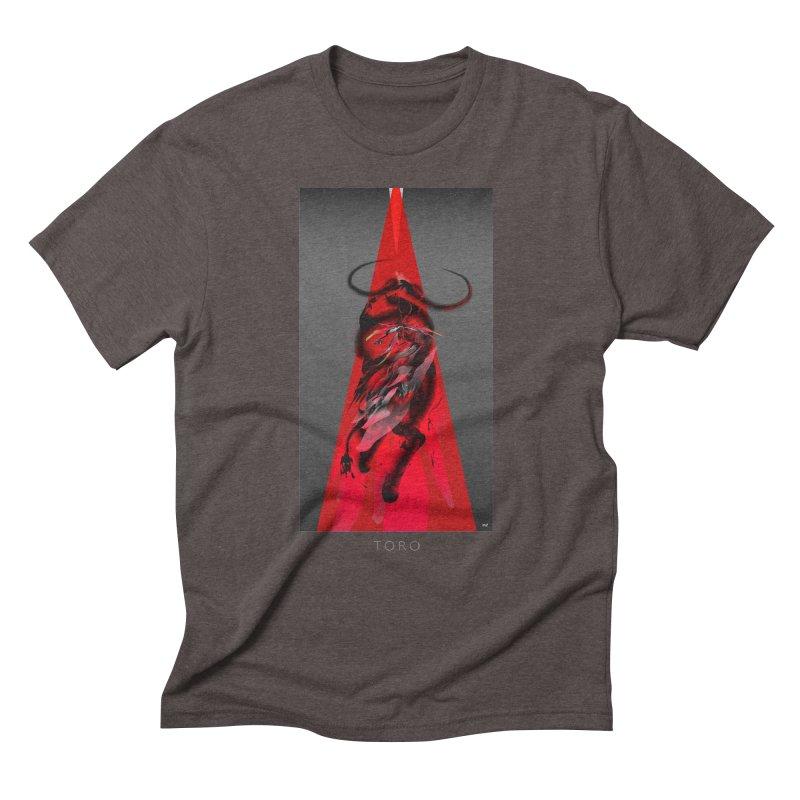 TORO! Men's Triblend T-Shirt by mu's Artist Shop