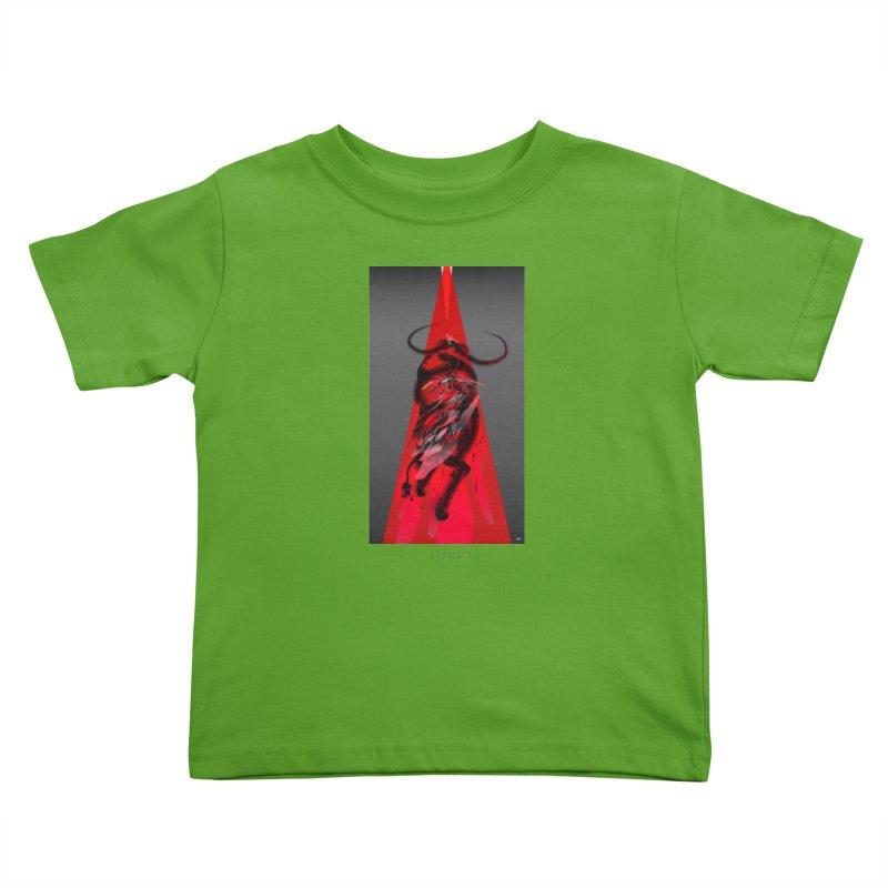 TORO! Kids Toddler T-Shirt by mu's Artist Shop