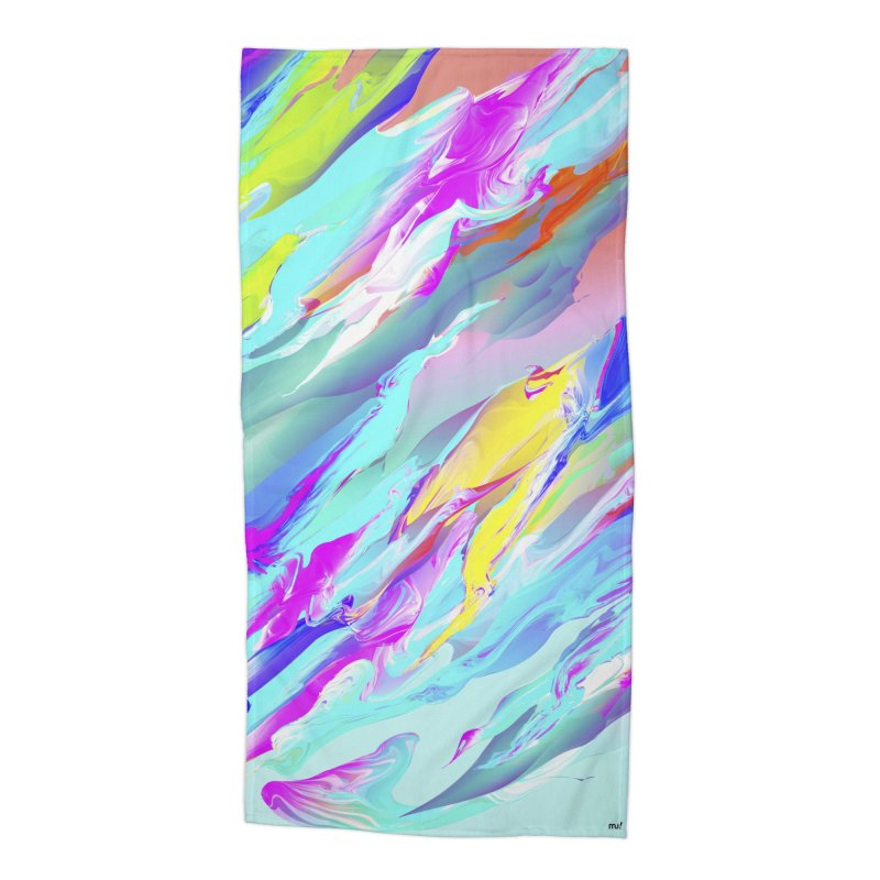 SHIFT THE TIDE Accessories Beach Towel by mu's Artist Shop