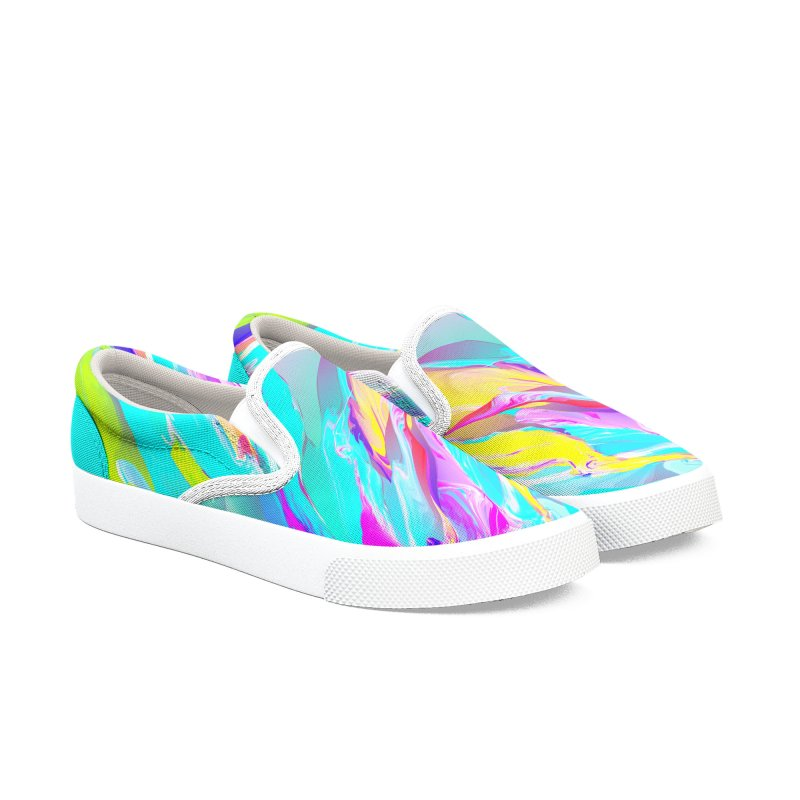 SHIFT THE TIDE Women's Slip-On Shoes by mu's Artist Shop