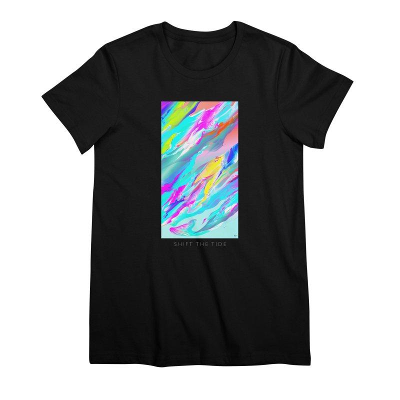 SHIFT THE TIDE Women's Premium T-Shirt by mu's Artist Shop