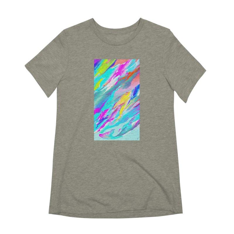SHIFT THE TIDE Women's Extra Soft T-Shirt by mu's Artist Shop