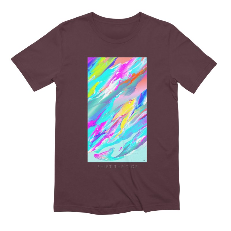 SHIFT THE TIDE Men's Extra Soft T-Shirt by mu's Artist Shop