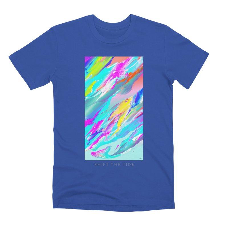 SHIFT THE TIDE Men's Premium T-Shirt by mu's Artist Shop