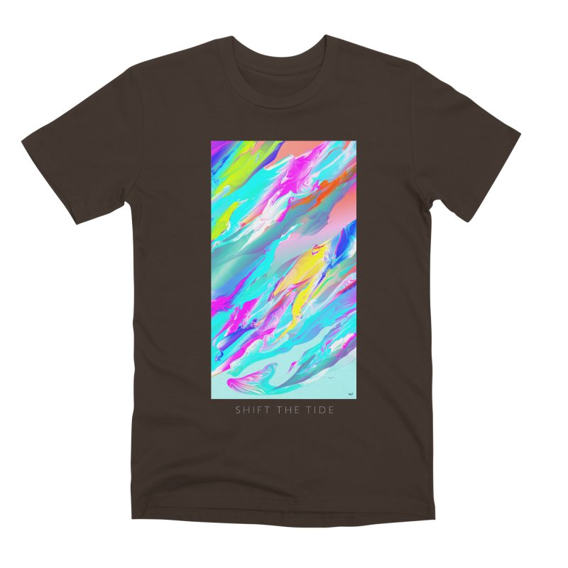 SHIFT THE TIDE Men's Premium T-Shirt by mu's Artist Shop