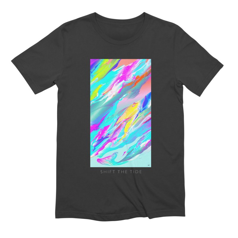 SHIFT THE TIDE Men's Extra Soft T-Shirt by mu's Artist Shop