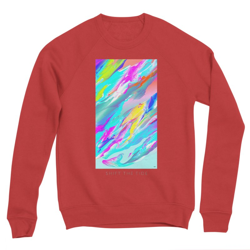 SHIFT THE TIDE Women's Sponge Fleece Sweatshirt by mu's Artist Shop