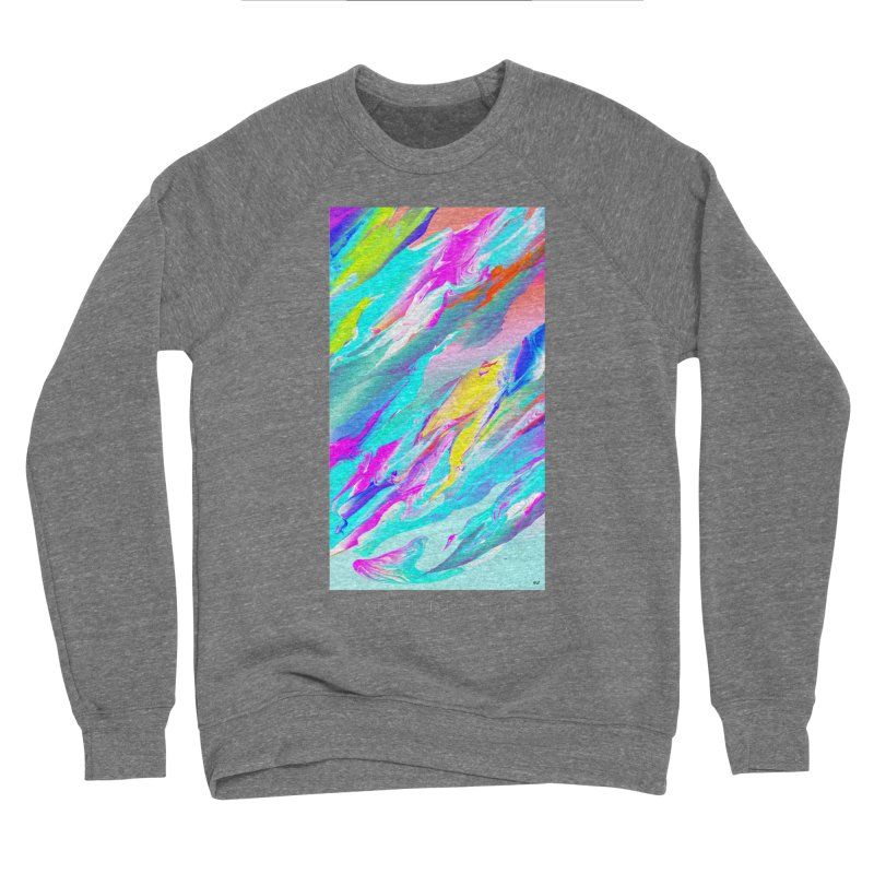 SHIFT THE TIDE Men's Sponge Fleece Sweatshirt by mu's Artist Shop
