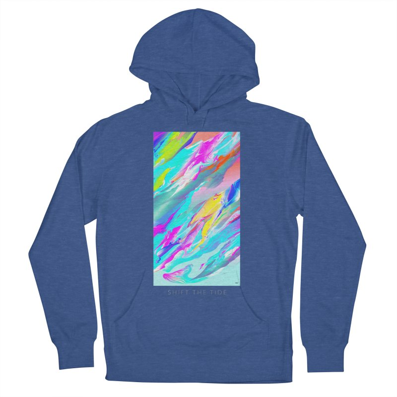 SHIFT THE TIDE Women's Pullover Hoody by mu's Artist Shop