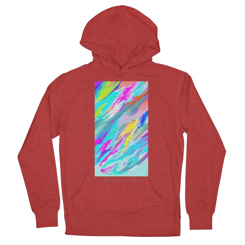 SHIFT THE TIDE Men's French Terry Pullover Hoody by mu's Artist Shop